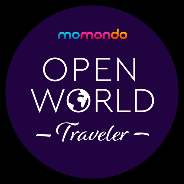 Open World Traveler: nuovamente selezionato come brand ambassador di momondo